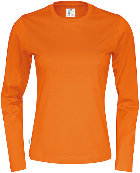 6141019290: T-Shirt Clique cottover Long Sleeve Lady 141019